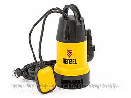Дренажный насос DP900 900 Вт, подъем 8.5 м, 14000 л/ч, DENZEL