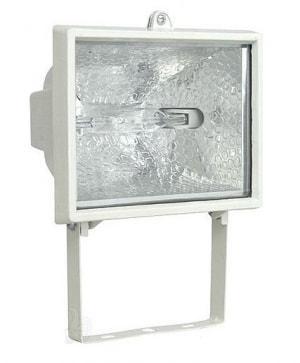 Прожектор галогенный ИО 500 белый IP54