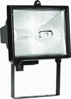 Прожектор галогенный ИО 150 черный IP54