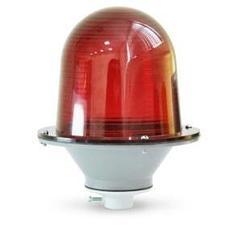 Фонарь ЗОМ красный пластиковый 220W IP53