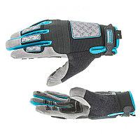 Перчатки универсальные комбинированые DELUXE L, GROSS