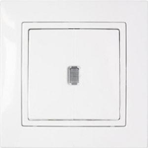 Выключатель одноклавишный С110-866 (с/у, с инд., 10А, IP20) УЮТ