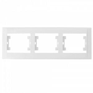 Рамка 3-местная белая М20 DEFNE 42001703