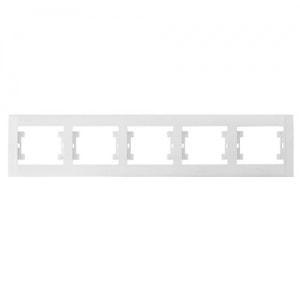 Рамка 5-местная белая М22 DEFNE 42001705