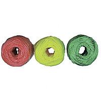 Набор шпагатов полипропиленовых, 6 шт. x 60 м, разные цвета, 1200 текс, 50 кгс, РОССИЯ
