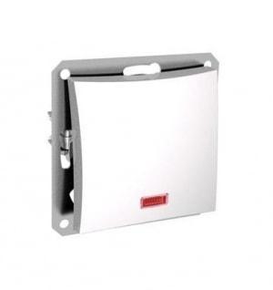 """Выключатель 1-клавишный с индикатором S319 10А с/у без рамки """"Дуэт"""" белый WDE113"""