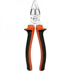 Пассатижи оранжевые 180 мм (8102)