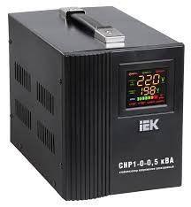 Электронный стабилизатор напряжения СНР 1-0-3 кВА (1ф) переносной