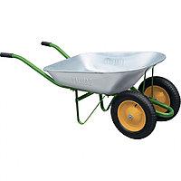 Тачка садовая, два колеса, грузоподъемность 170 кг, объем 78 л. PALISAD