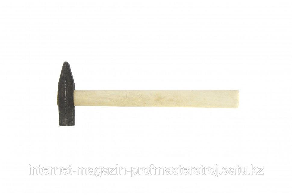 Молоток слесарный, 600 г, квадратный боек, деревянная рукоятка, РОССИЯ