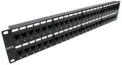Патч панель кат.6 UTP, 48 портов 2U