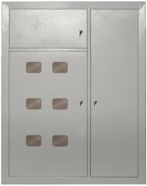 Металлический распределительный щит ЩЭ 6 P31 IEK