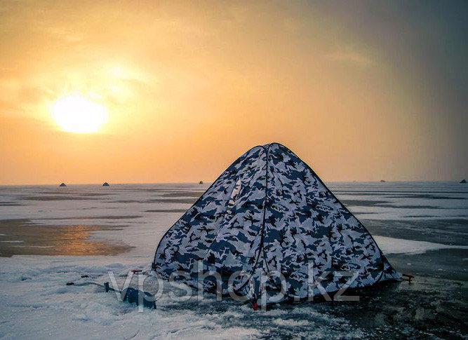 Зимняя палатка для рыбалки автомат Утеплённая с синтепоном, доставка