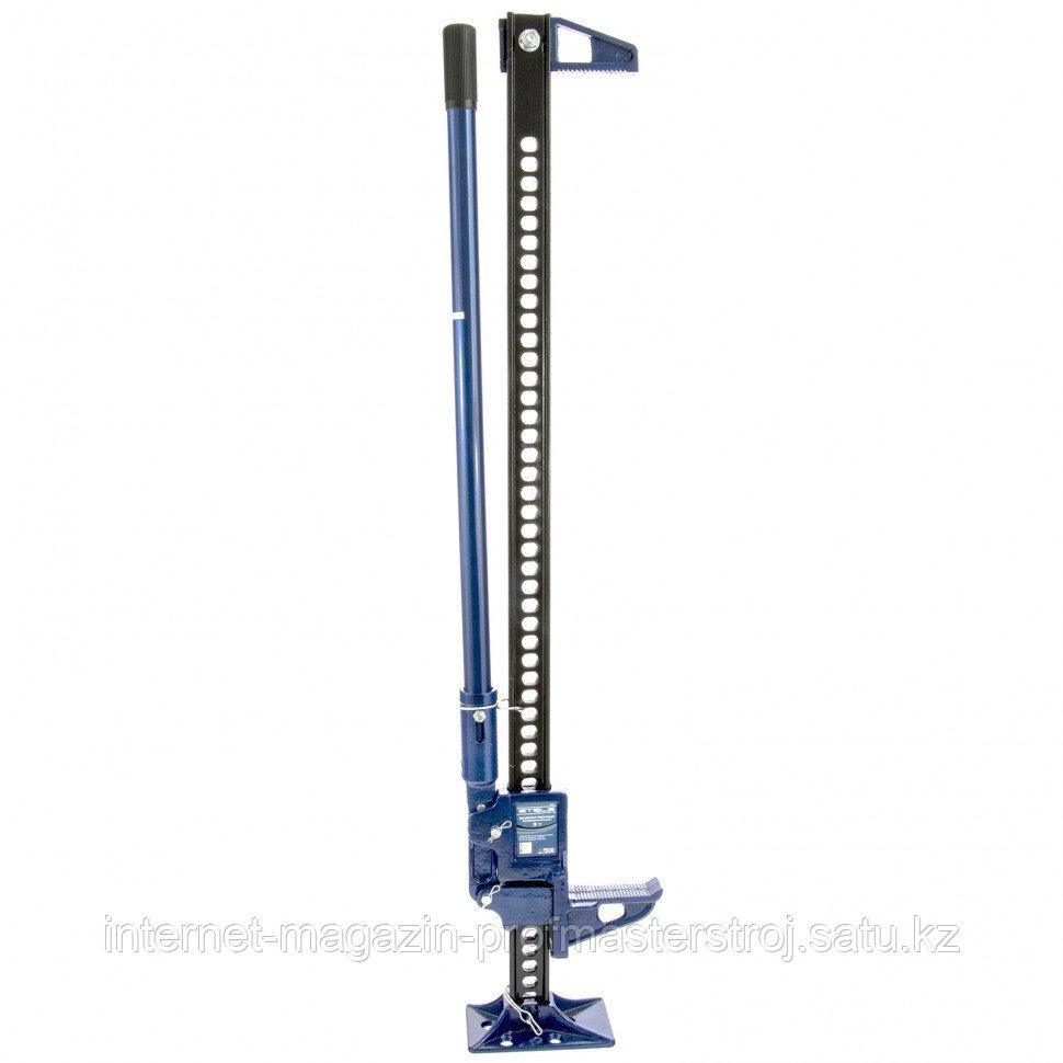 Домкрат реечный профессиональный 3 тонны, 115-1030 мм, High jack, STELS