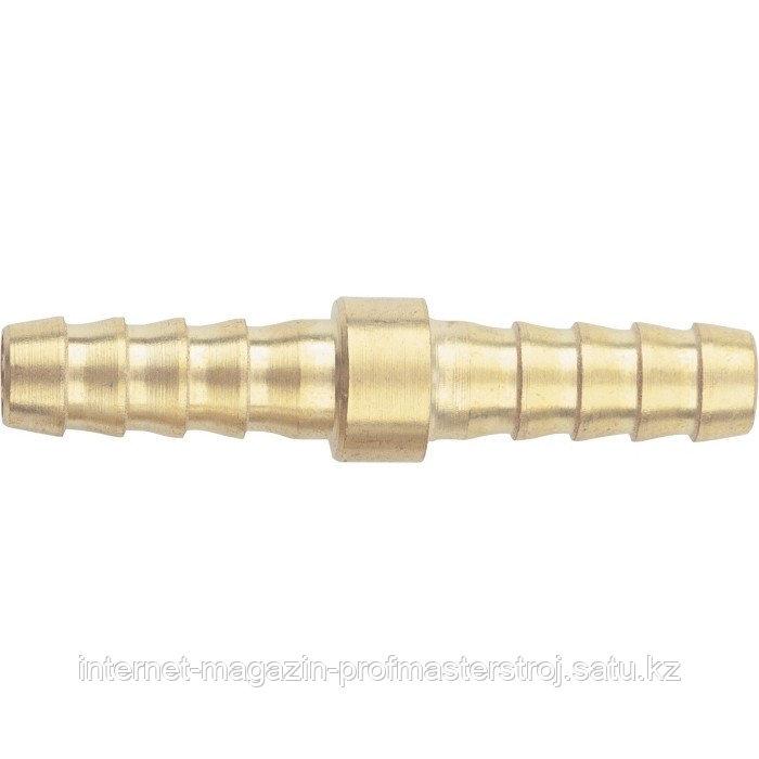 """Штуцер """"елка"""" двусторонний соединительный под шланг 10 мм, 2 шт., STELS"""