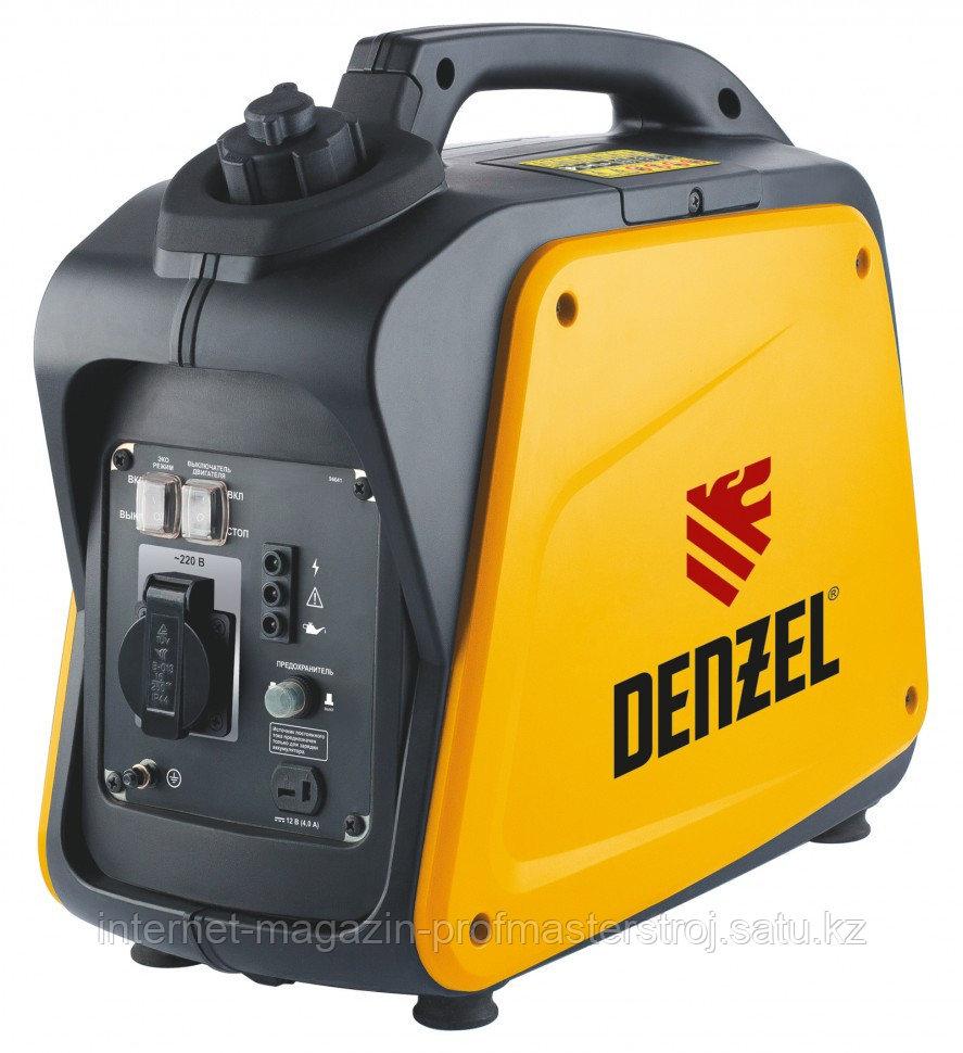 Генератор инверторный GT-1300i, X-Pro 1,3 кВт, 220В, бак 3 л, ручной старт, DENZEL