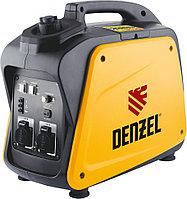 Генератор инверторный GT-2100i, X-Pro 2,1 кВт, 220В, бак 4.1 л, ручной старт, DENZEL
