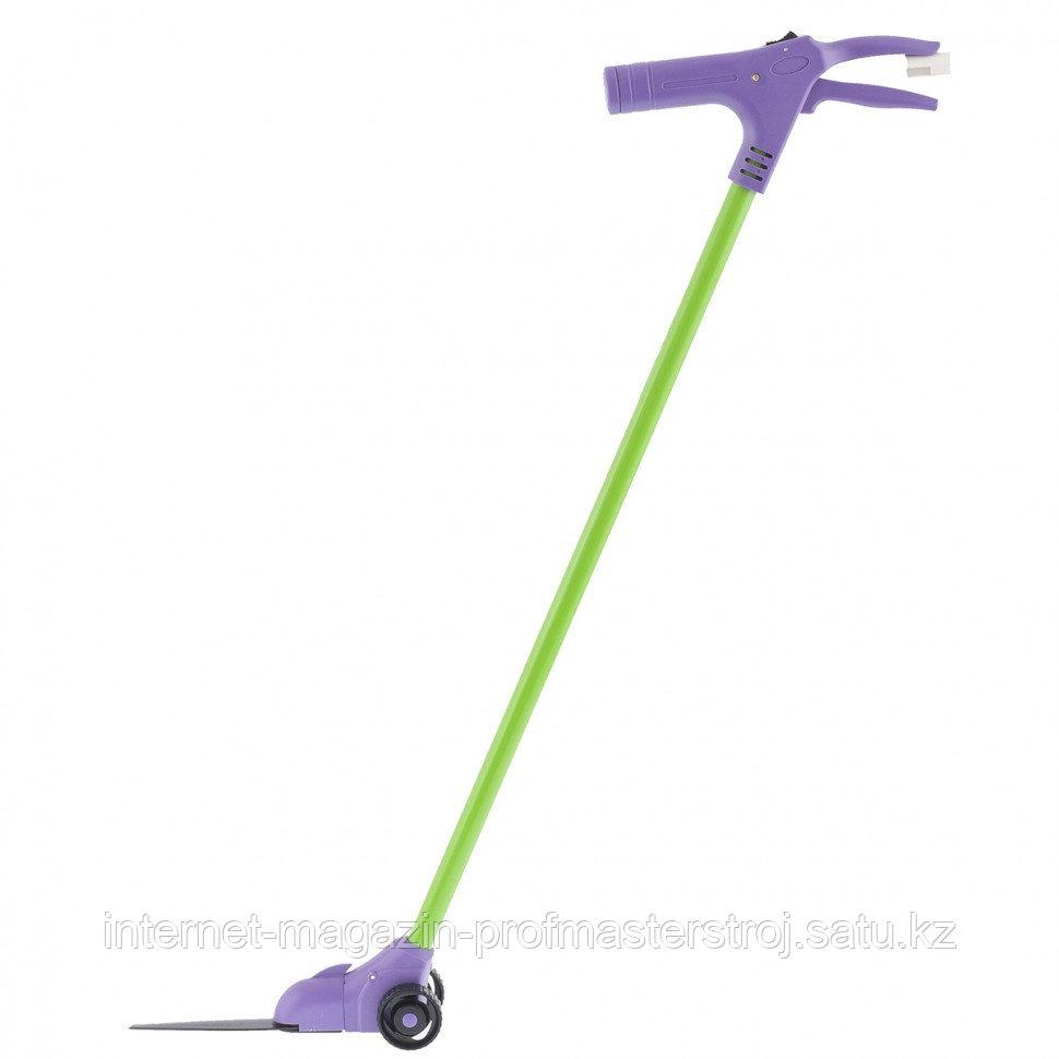 Ножницы для травы на штанге с колесами, 930 мм, поворот лезвий до 180 градусов, PALISAD