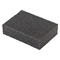 Губка для шлифования, 100 х 70 х 25 мм, мягкая, P 100. MATRIX