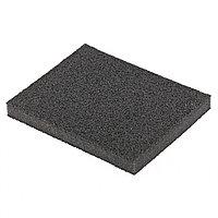 Губка для шлифования, 125 х 100 х 10 мм, мягкая, P 40. MATRIX