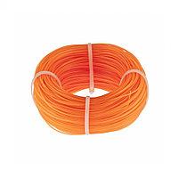 Леска строительная, 100 м, D 1 мм, цвет оранжевый. СИБРТЕХ