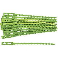 Подвязки для садовых растений 17 см, пластиковые, 50 штук, PALISAD