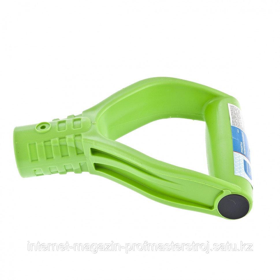 Усиленная V-образная рукоятка для лопат и вил, 36 мм, СИБРТЕХ Россия