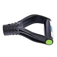 Усиленная V-образная рукоятка (черная) для лопат и вил, 36 мм, СИБРТЕХ Россия