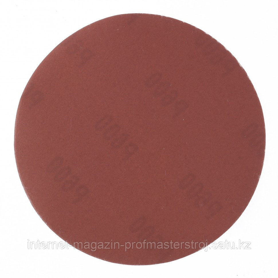 """Круг абразивный на ворсовой подложке под """"липучку"""", P 500, 125 мм, 10 шт, MATRIX"""