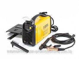 Аппарат инвертор дуговой сварки ММА-180ID, 180 А, ПВР 60%, диаметр электрода 1,6-4 мм, провод 2 м. Denzel
