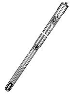 Термометр лабораторный метастатический ТЛ-1 Бекмана