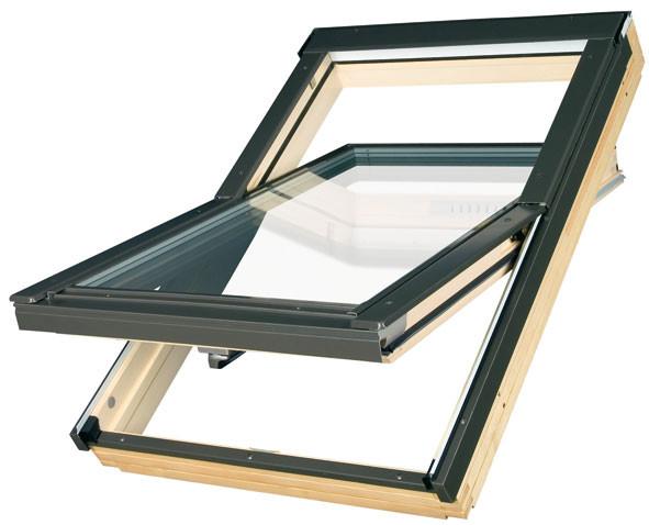 Мансардные окна FAKRO FTS-V U2 для металлочерепицы
