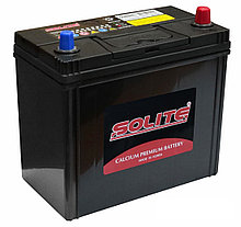 Аккумулятор автомобильный SOLITE 45Ah SMF 55B24L левый + Корея