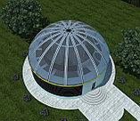 Проектирование и строительство из ЛМК туристических баз, домов отдыха, кафе, ресторанов в виде юрты, фото 3
