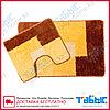 Коврик для ванной комнаты Табыс цветной 55х85 15мм 2-ка, фото 6