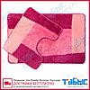 Коврик для ванной комнаты Табыс цветной 60х100 15мм 2-ка, фото 4