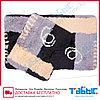 Коврик для ванной комнаты Табыс акрил цветной 60х100 30мм 2-ка, фото 3