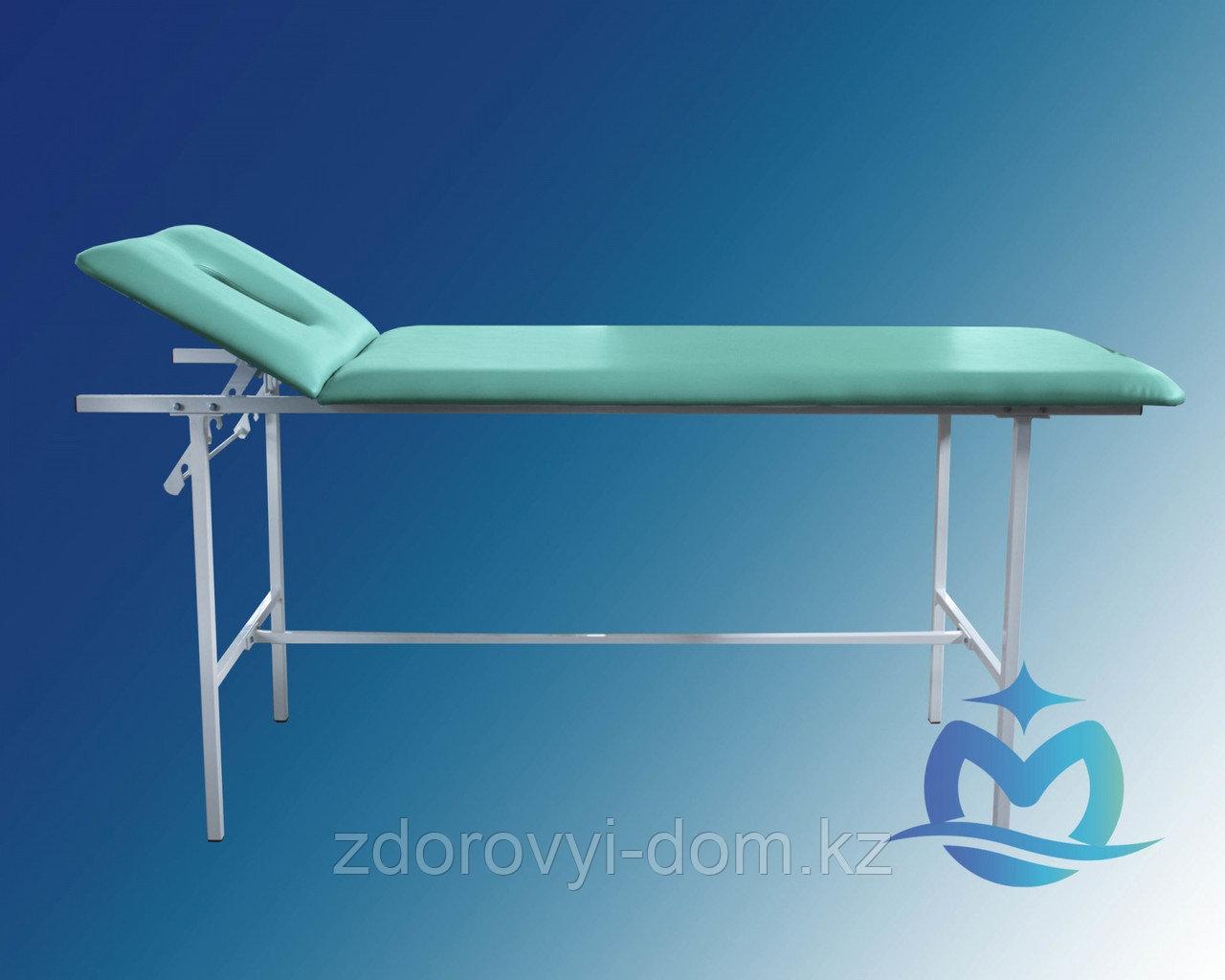Кушетка медицинская массажнаяКМм-01-«Ока-Медик» (с вырезом для лица, ППУ 20 мм)