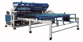 Станок для производства сетчатой панели из сварной проволоки