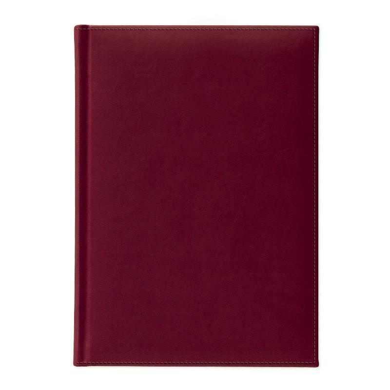 Ежедневник не датированный | Туксон | бордовый