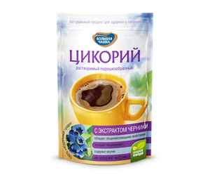 Цикорий «Большая чашка» с экстрактом черники
