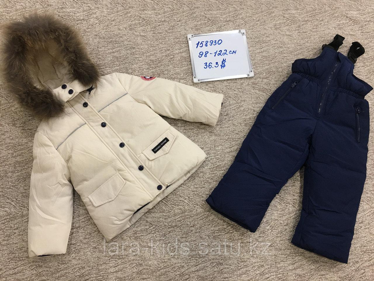 Зимние куртки и комбинезоны для маленьких детей