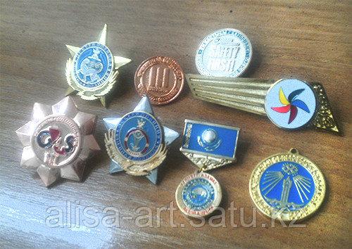 Изготовление медалей, брелоков, отличительных знаков, наград. - фото 3