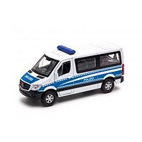 1/50 Welly Металлическая модель Полицейский Mercedes-Benz Sprinter Traveliner