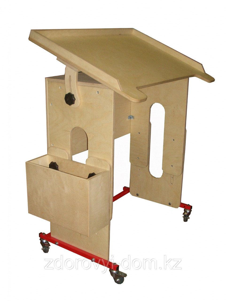 """Подкатная стол-парта, """"Я Могу"""" арт. 000.301"""