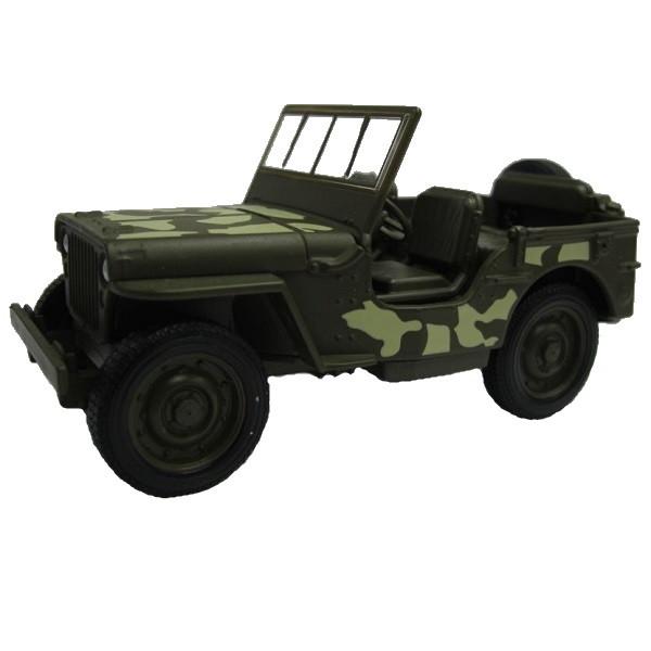 1/34 Welly Модель военной машины 1941 Jeep Willys MB