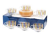 Чайный сервиз Luminarc Evolutoin Fizz на 6 персон