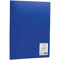 """Папка """"OFFICESPACE"""" с 30 вкладышами, 15мм, 500мкм, синяя"""
