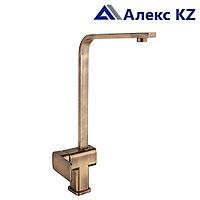Смеситель для кухни  одноручный  ZEGOR LEB4-A123KT (цвет: бронза)