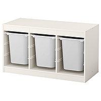 стеллаж для игрушек ТРУФАСТ белый ИКЕА, IKEA
